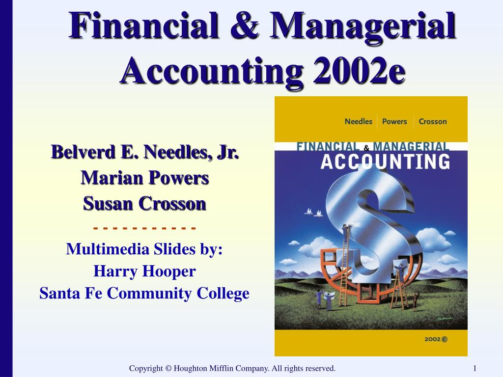 financial managerial accounting 2002e l.