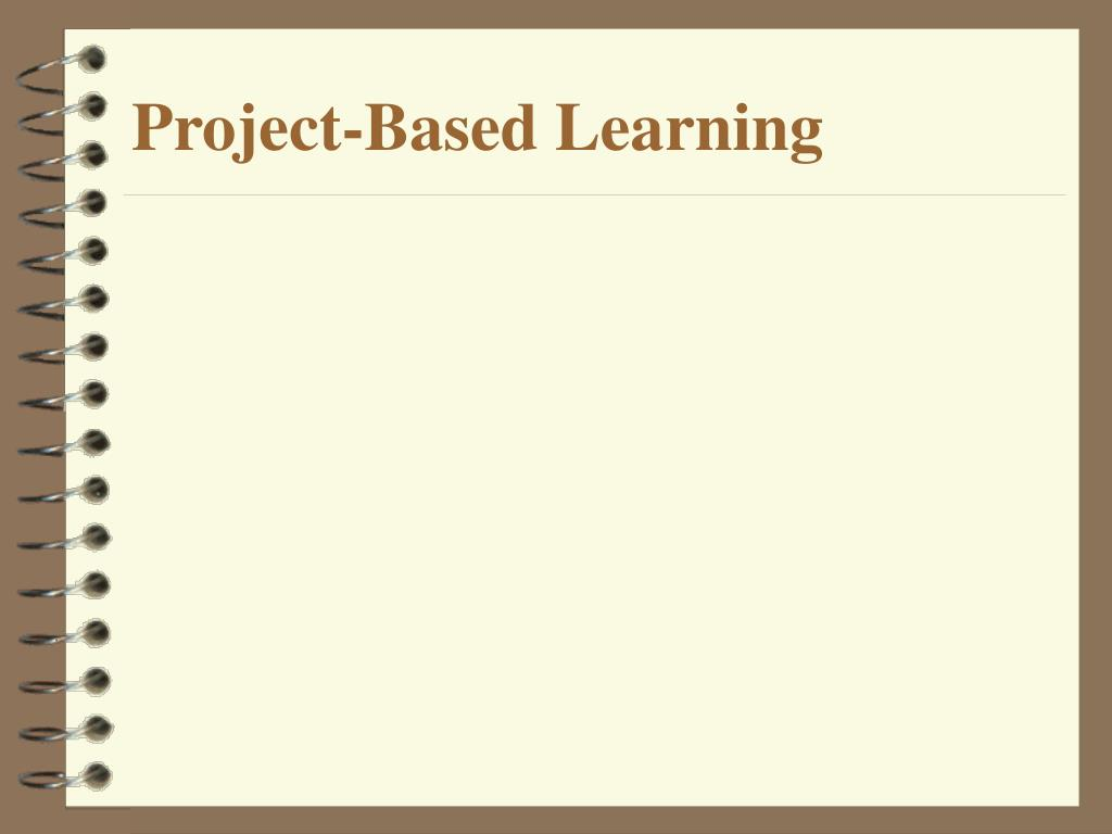 project based learning l.
