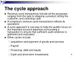 the cycle approach