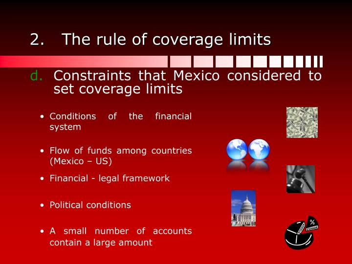 The rule of coverage limits