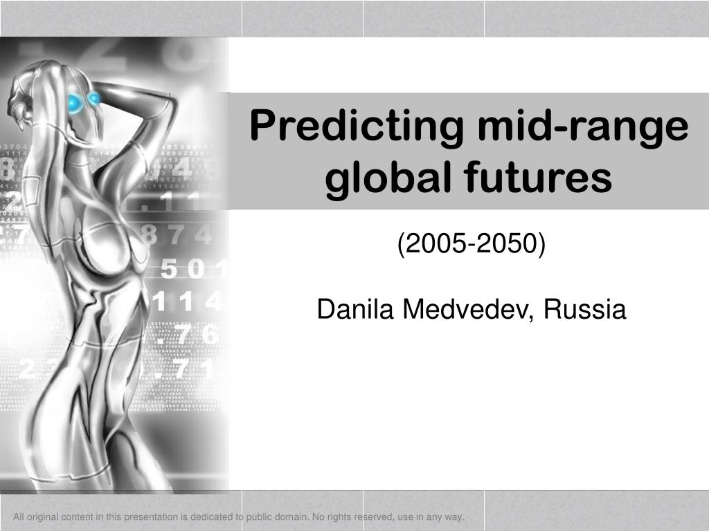 predicting mid range global futures l.