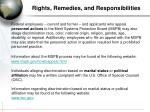 rights remedies and responsibilities1