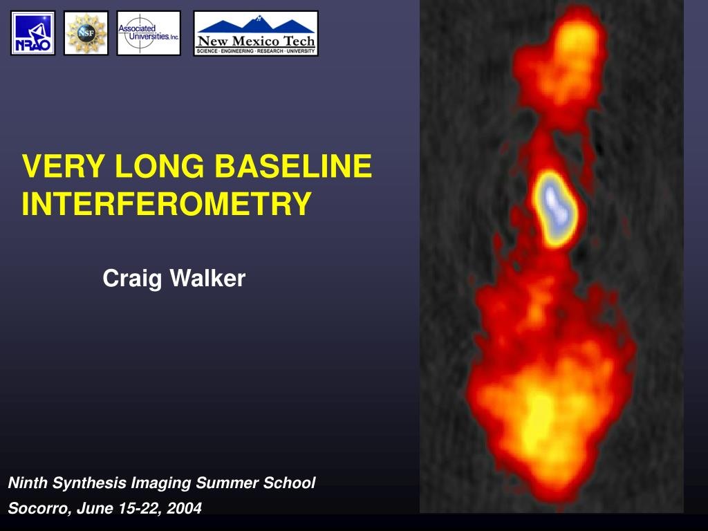 very long baseline interferometry l.