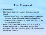 find command1