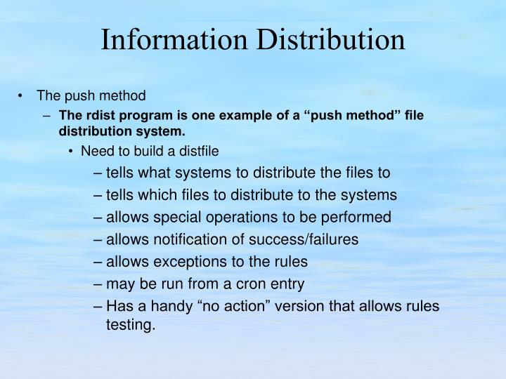 The push method
