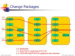 change packages