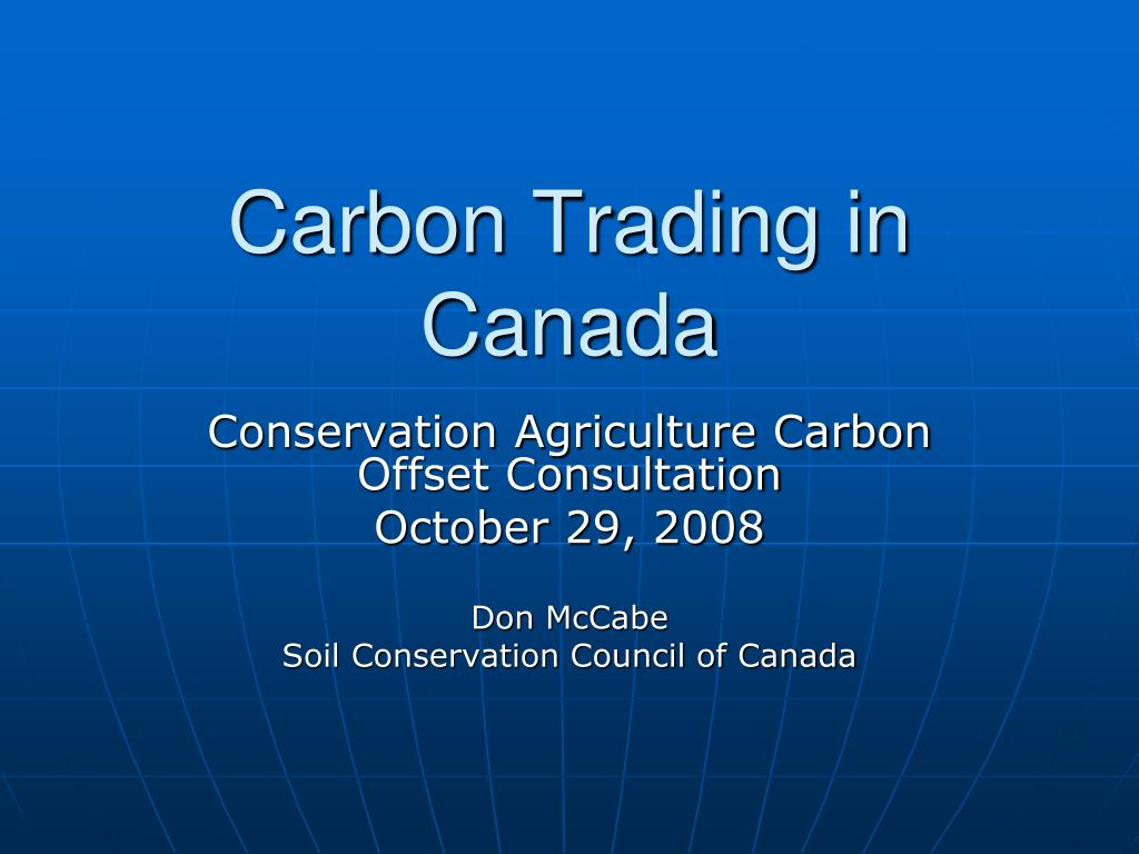 carbon trading in canada l.