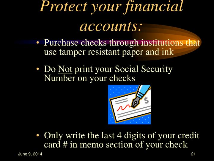Protect your financial accounts: