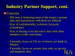 industry partner support cont6