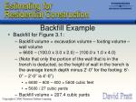 backfill example