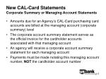 new cal card statements corporate summary or managing account statements6