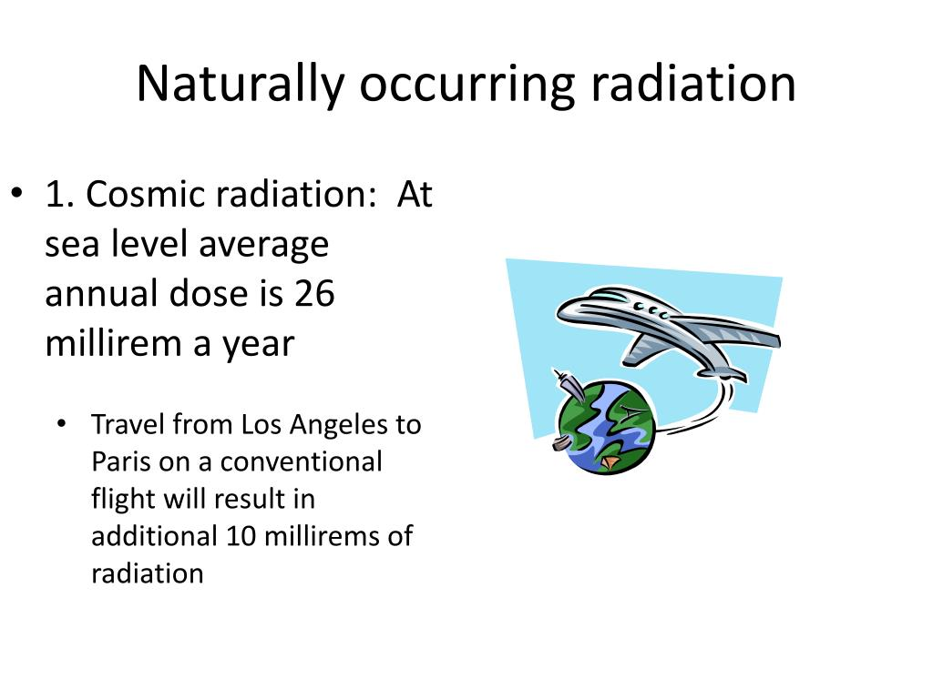 naturally occurring radiation l.