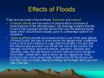 effects of floods