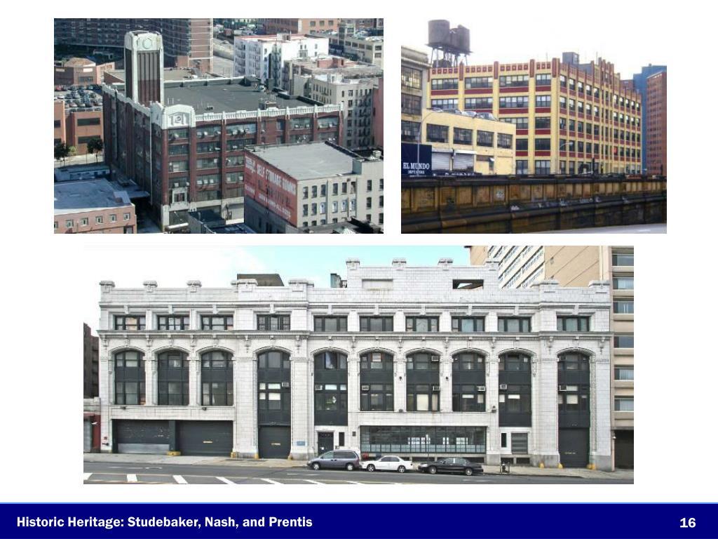 Historic Heritage: Studebaker, Nash, and Prentis