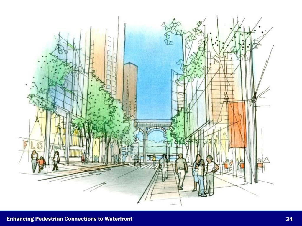 Enhancing Pedestrian Connections to Waterfront