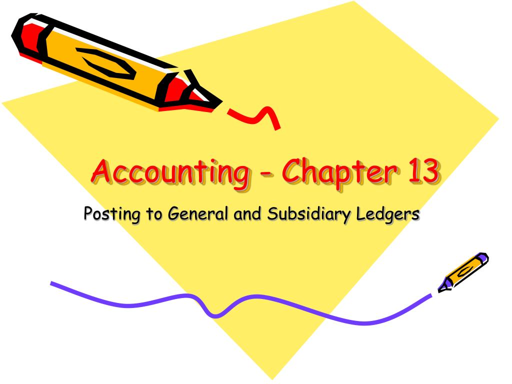 Accounting - Chapter 13
