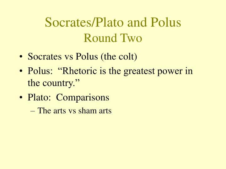 on socrates debate with polus
