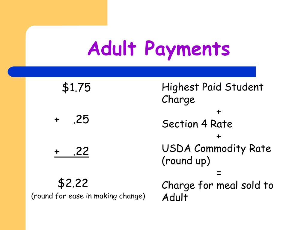 Adult Payments
