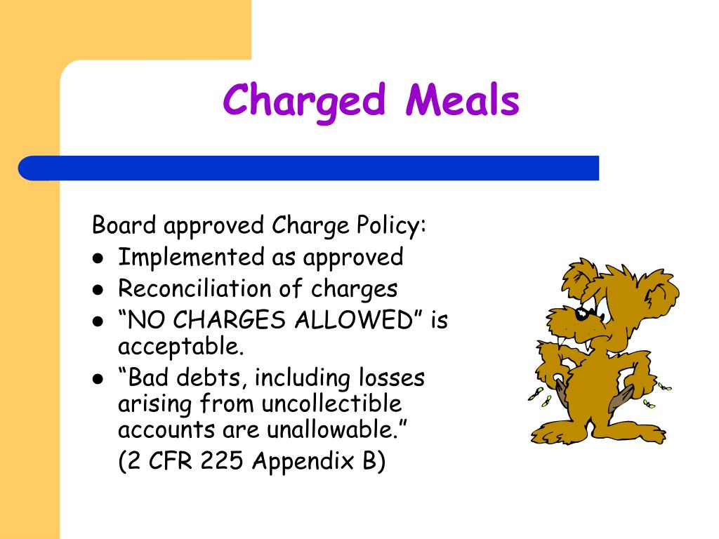 Charged Meals