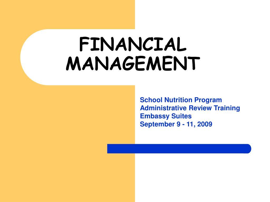 financial management l.