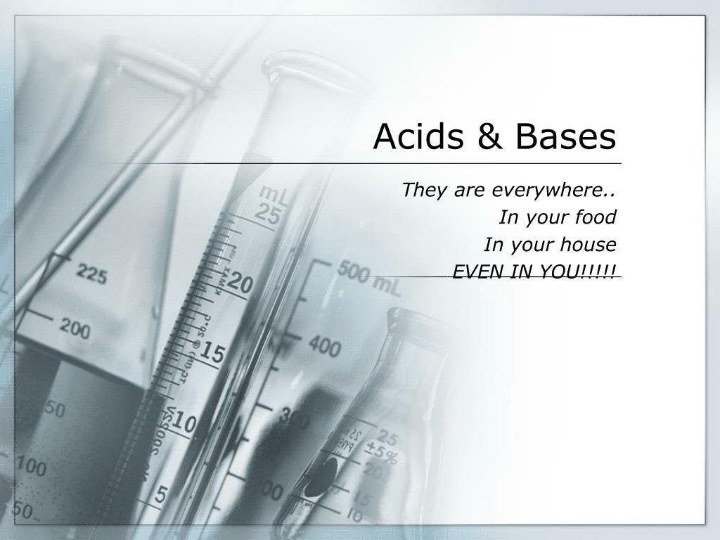 acids bases l.