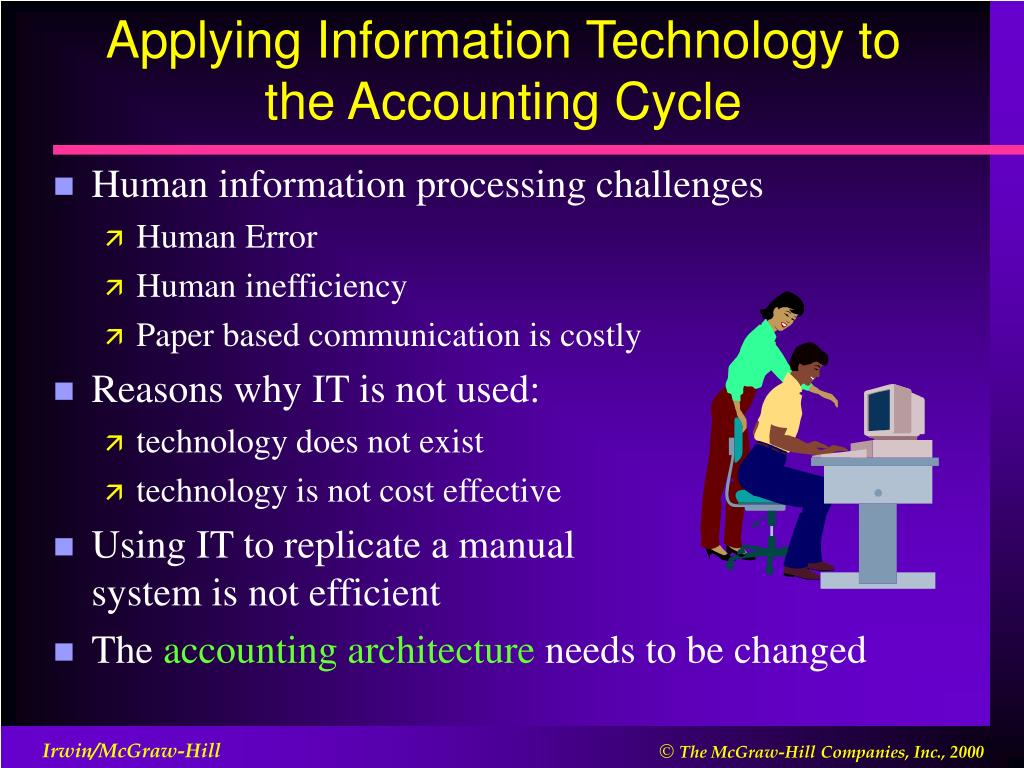 Applying Information Technology to the Accounting Cycle