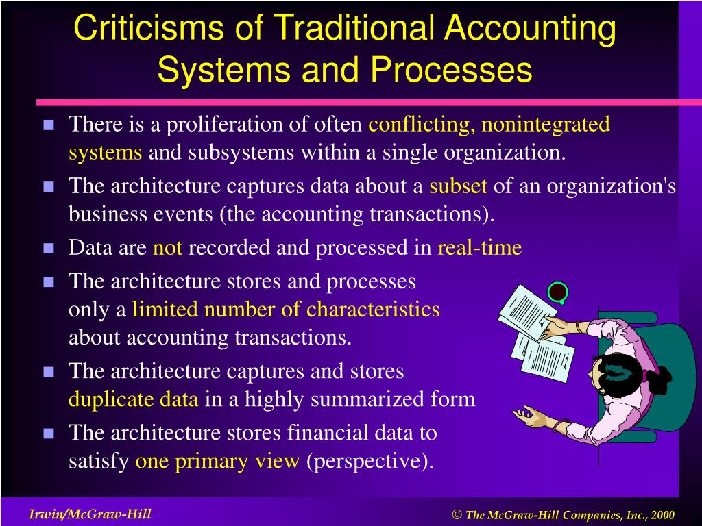 Criticisms of Traditional Accounting