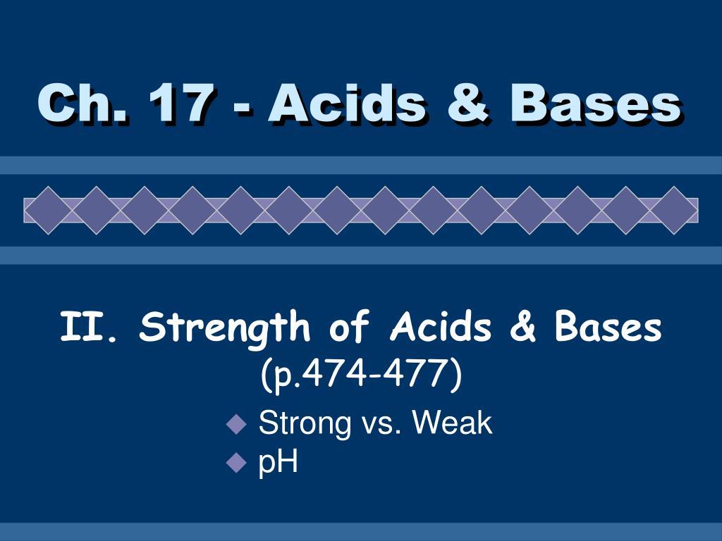 ch 17 acids bases l.