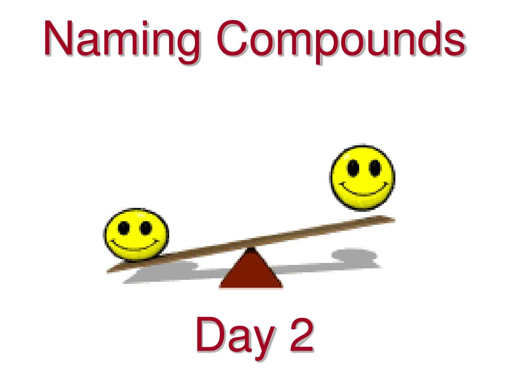 naming compounds l.