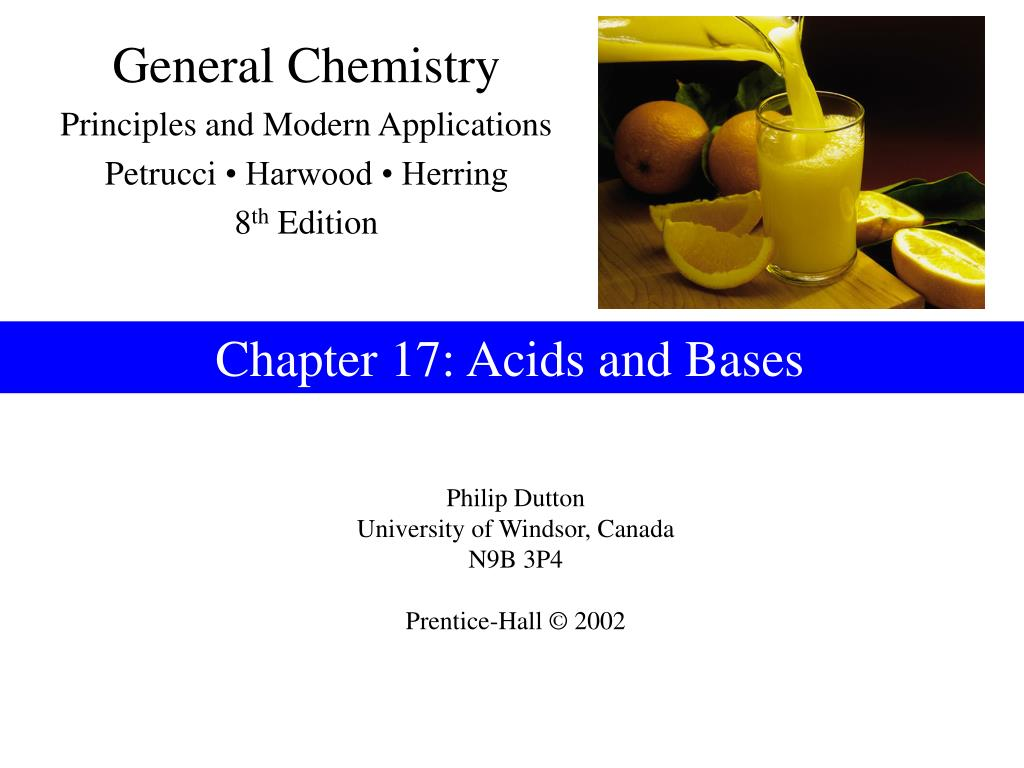 chapter 17 acids and bases l.