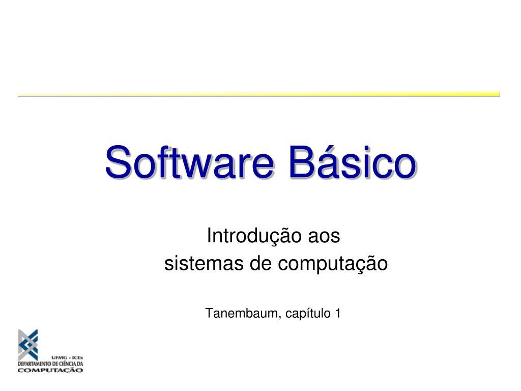 introdu o aos sistemas de computa o tanembaum cap tulo 1 l.