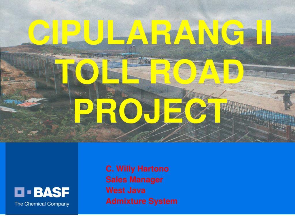 cipularang ii toll road project l.