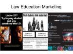 law education marketing