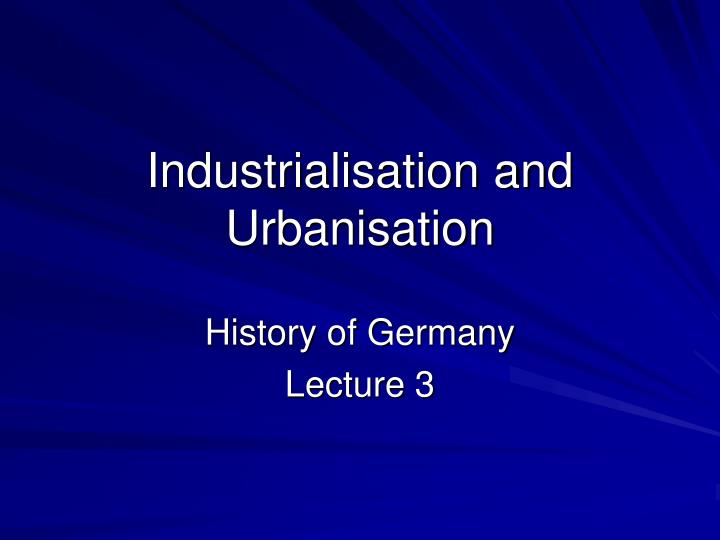 how industrialization and urbanization at the What is the difference between industrialization and urbanization industrialization leads to urbanization urbanization is a consequence of industrialization.