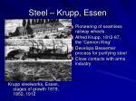 steel krupp essen