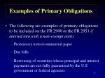 examples of primary obligations57