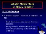 what is money stock or money supply7