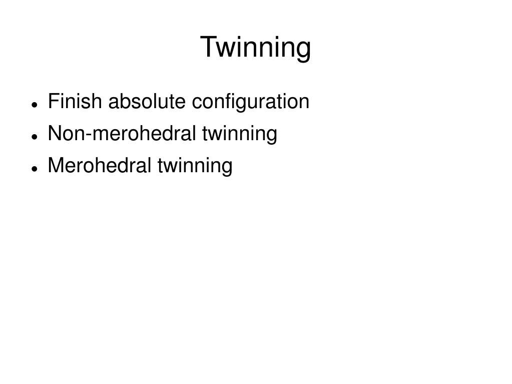 twinning l.