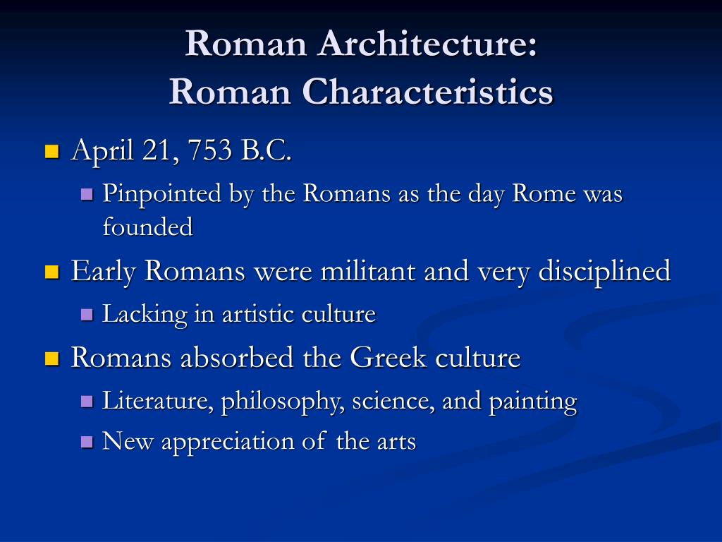 Ppt Ancient Greek And Roman Architecture Point