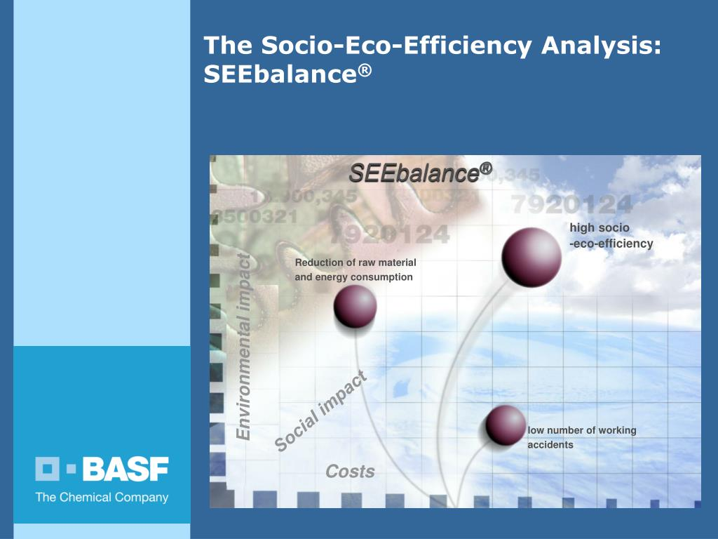 the socio eco efficiency analysis seebalance l.