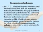 compromise or settlements25