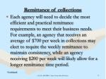 remittance of collections18