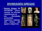 divindades gregas