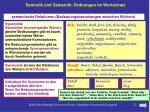 semiotik und semantik ordnungen im wortschatz7