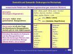 semiotik und semantik ordnungen im wortschatz8