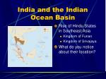 india and the indian ocean basin16