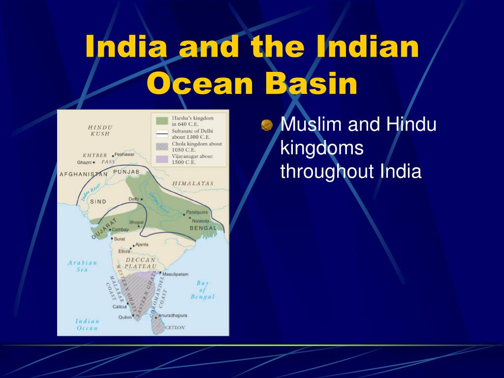 PPT - India and the Indian Ocean Basin PowerPoint