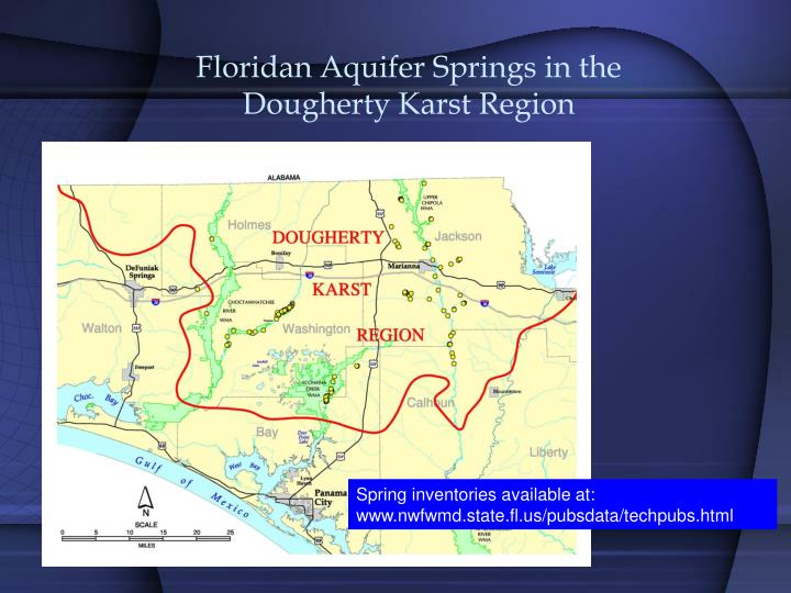Floridan Aquifer Springs in the