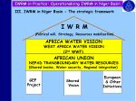iwrm in practice operationalising iwrm in niger basin10