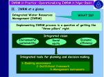 iwrm in practice operationalising iwrm in niger basin8